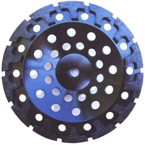 "7/"" NEW PRO.DIAMOND CUP WHEEL POWERFUL T-SEG 4 HARD CONCRETE STONE GRINDING"
