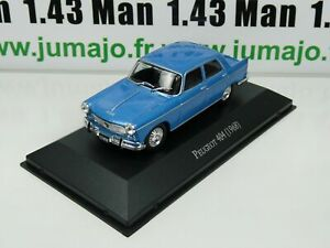 ARG13G-Voiture-1-43-SALVAT-Autos-Inolvidables-Peugeot-404-1968