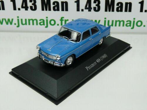 1968 Peugeot 404 ARG13G Auto 1//43 Salvat Auto Inolvidables