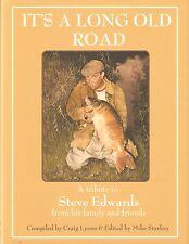 EDWARDS STEVE FISHING BOOK ITS A LONG OLD ROAD CARP hardback LIMITING new