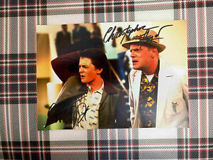 Michael-J-Fox-Christopher-Lloyd-Back-to-the-Future-signed-photo-6x8-inch-coa