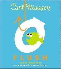 Flush by Carl Hiaasen (2005, CD, Unabridged)