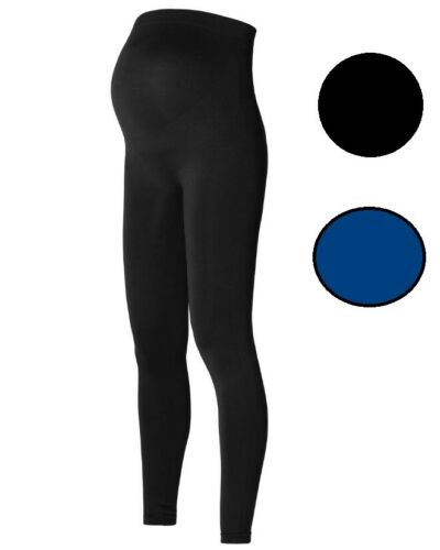 Noppies Umstandsleggings Seamless Cara Gr XS//S XL//XXL M//L NEU blau schwarz