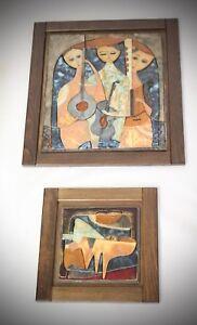 Ruth-Faktorowitsch-2-X-Keramik-Bilder-Installationen-Keramik-Relief-Musik