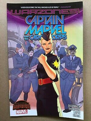 Captain Marvel And The Carol Corps Secret Wars Warzones Trade Paperback TPB   NM