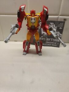 Transformers Titans Return Autobot Hot Rod & Firedrive Deluxe Class Hasbro