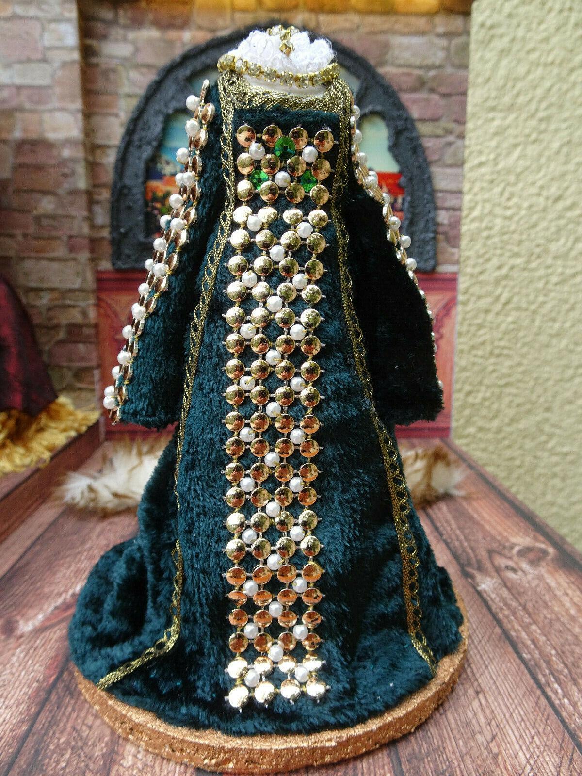 Game of Thrones inspiriert Manequin Olivia Miniatur 1 12 Dollhouse Unikat OOAK