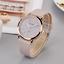 Glitter-Sparkling-Women-039-s-Wrist-Watch-Rose-Gold-Leather-Bracelet-Ladies-Gift miniatuur 3