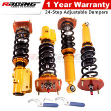 Coilover Shock Struts For Mazda Savanna RX7 RX-7 FC3S 86-91 Adj Damper & Camber