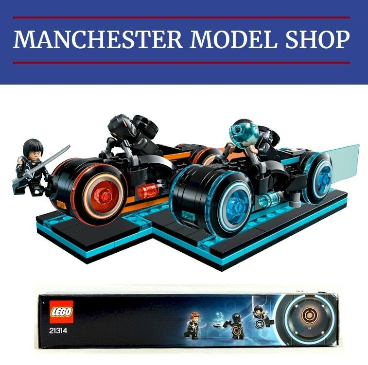 Lego Ideas 21314 TRON Legacy Light Cycle set BRAND NEW & BOXED