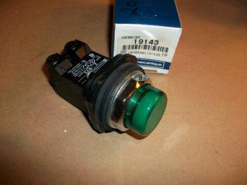 Telemecanique Pilot Light       XB3BV33   NEW IN BOX   120VAC