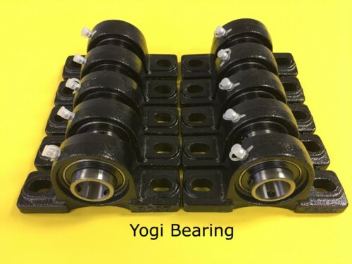 "Solid Base 10pcs UCP205-16 High Quality 1/"" inch Pillow Block Bearing"