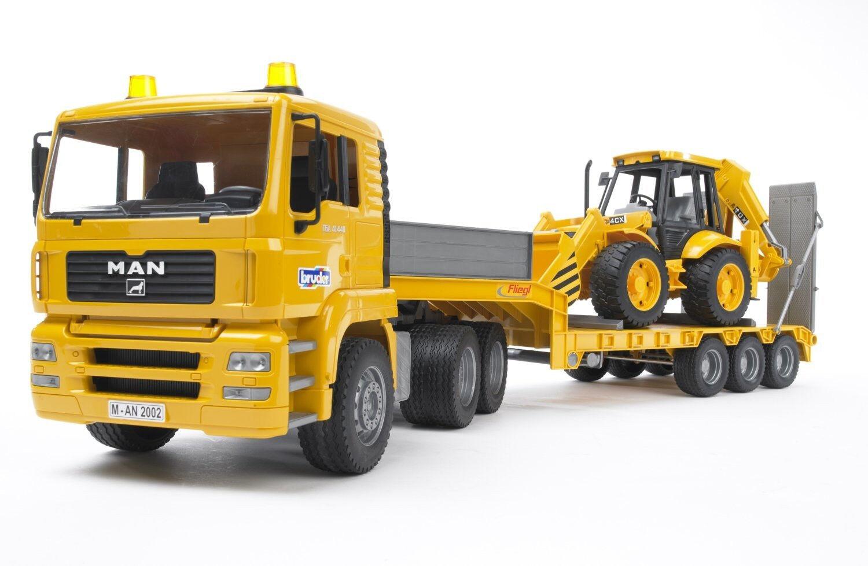 BRU2776 Camion 6x4 MAN TGA TGA TGA avec semi plateau porte engins et tractopelle Jcb 4   Que Nos Produits Vont Dans Le Monde  8ac4d2