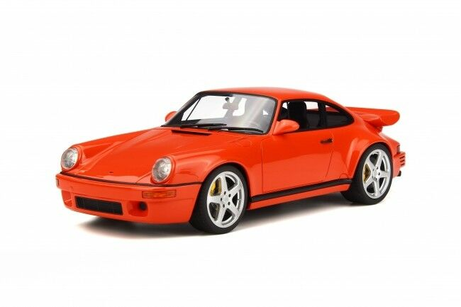 Resin voiture Model GT Spirit Porsche RUF 964  SCR 4.2 (Orange) 1 18 + petit GIFT  Commandez maintenant