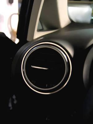 Edelstahl poliert D Seat Leon 1P Chrom Rahmen für Klimabedienteil