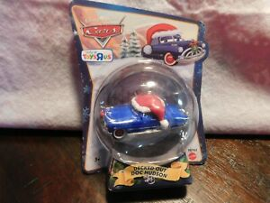 Disney Pixar Cars Christmas Package Decked Out Doc Hudson