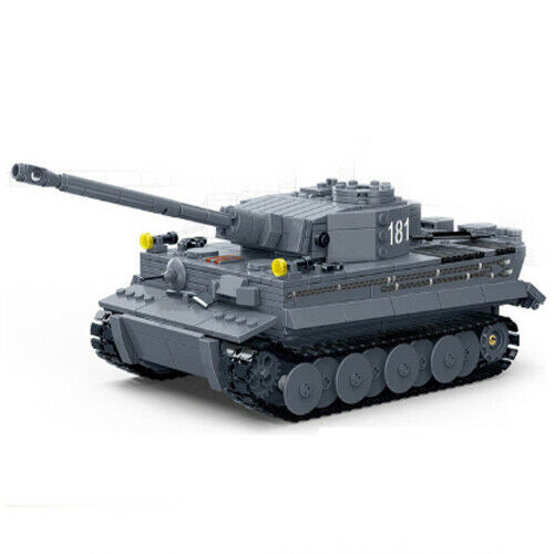 Technic Militär Tiger Panzer 42056 42083 Blöcke Bausteine MOC 42110 Weltkrieg