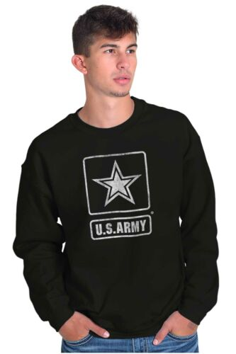 United States Army Official Licensed Logo USA Crewneck Sweat Shirts Sweatshirts