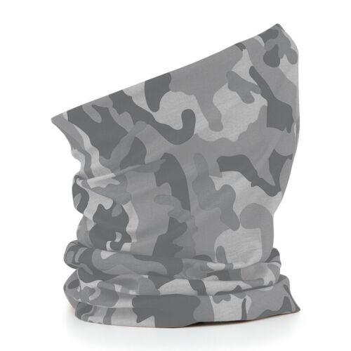 Ladies Womens Girls Scarves Headband Morf Multi Use 3 in 1 Snood Hat Ski Neck