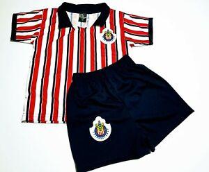 buy popular 8e001 ffe6c Details about New Chivas De Guadalajara soccer jersey Mundial De Clubes  kid's uniform Futbol
