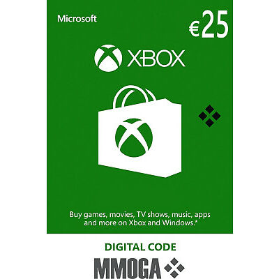 25 EUR Carta regalo Xbox - €25 Euro MS prepagato Codice Xbox One 360 - IT/EU