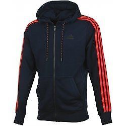 Sports Red Jacket Adidas Full Essentials Mens Hoodie Navy Zip HvqwR1Iw