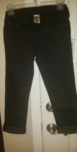 True Religion 220 Size Jeans Women 25 Rolled Capri 24 With Flaps Ret qHwFd5