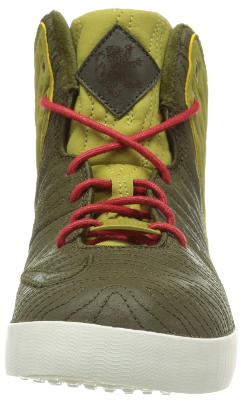 Nike Men's Lebron XI NSW Lifestyle 8.5 - Size 8.5 Lifestyle (GREEN/GOLD) 616766-300 02bdef