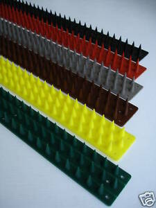 Genuine Prikka Strip Fence Spikes 4m -  All Colours