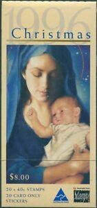 Australia-booklet-1996-SG1659-40c-Christmas-MNH