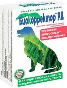 Details about Biocorrector for dog 90 tab disbacteriosis, digestive enzymes  prebiotic allergy