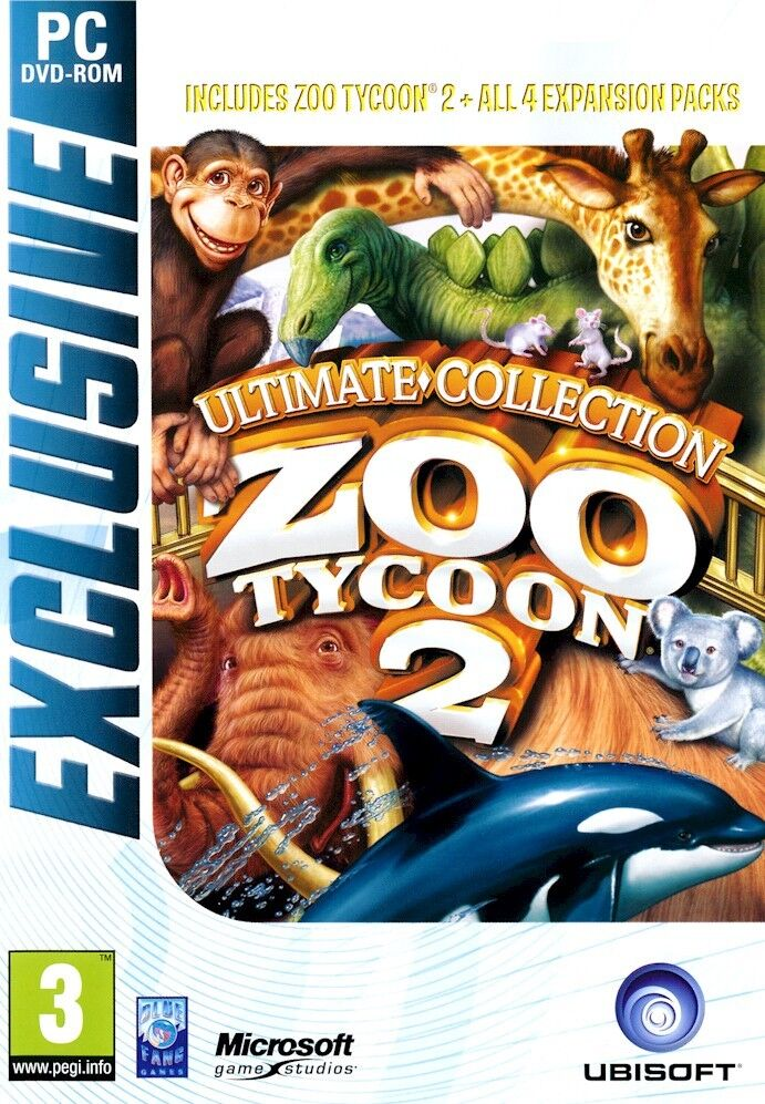Zoo Tycoon 2 Ultimate Collection PC Brand New Sealed with All 4 Expansion  Packs - Games and Gadgets Store in Miami FL