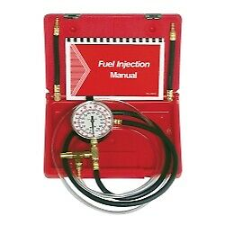 Lang Tools TU-469 Fuel Injection Pressure Tester with Schrader Adapters