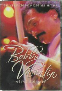 BOBBY VALENTIN EL REY DEL BAJO EN VIVO DESDE BELLAS ARTES DVD NEW AND SEALED