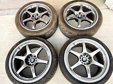 Rare Jdm 5zigen Gn 18 5x1143 Wheel Z32 300zx Rx7 Fd3s Z33 350z Silvia Supra