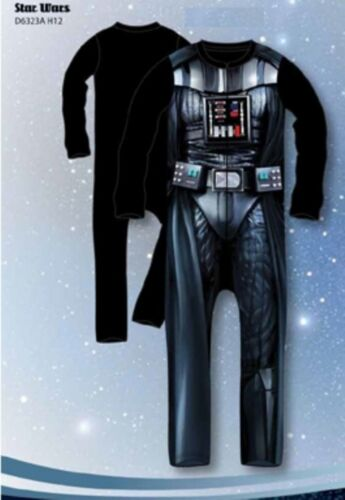 Star Wars Costume di CARNEVALE COMPLETO STORM TROOPER ddarth Vader 4-5 6-7