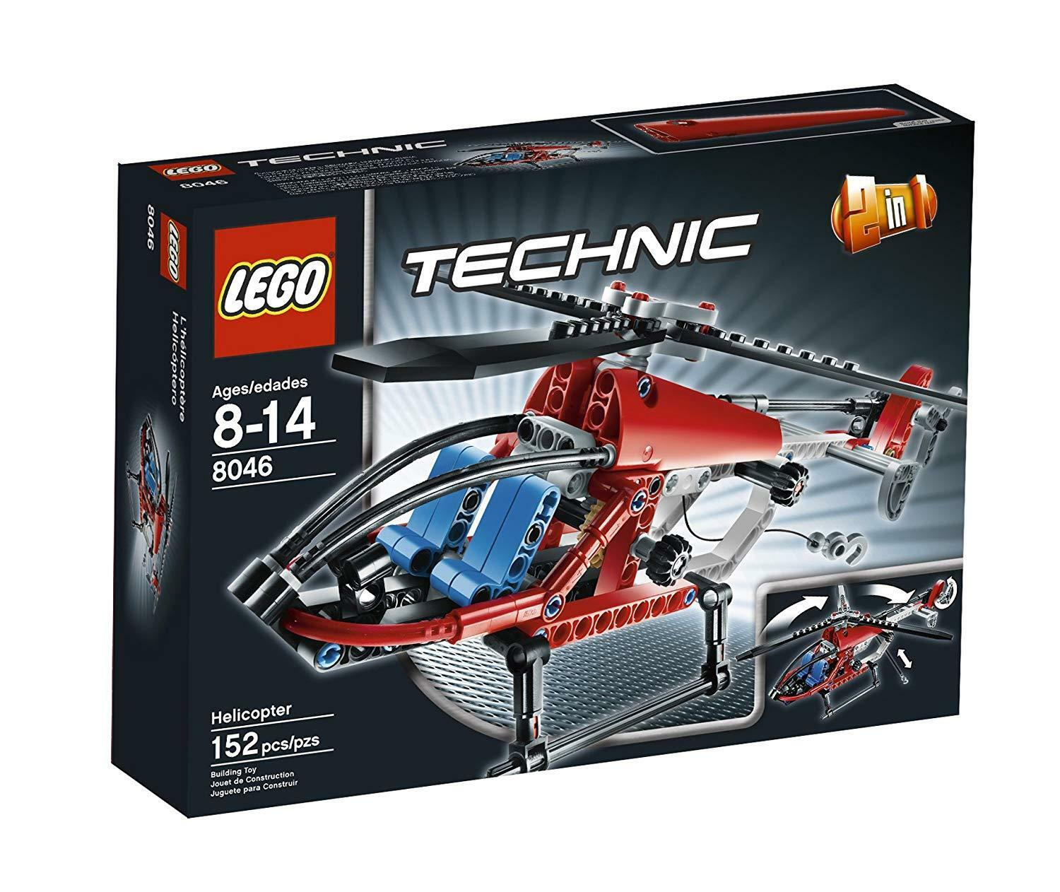 LEGO TECHNIC Helicopter 8046 - retired