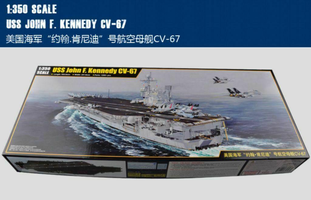 Merit 1 350 65306 USS John F. Kennedy CV-67 model kit 65306