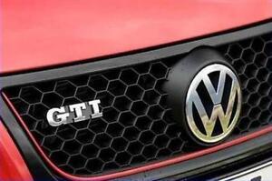 Volkswagen-Polo-GTI-Kuhlergrill-9N3-Gitter-Rot-Original-NEU-6Q0853651G-QWD