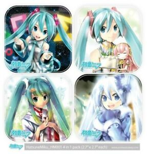 Hatsune-Miku-4-in-1-pack-Anime-Car-Decal-Vinyl-Sticker-with-Laminate-001