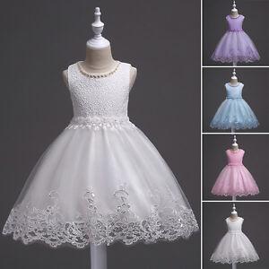 VOGUE-ENFANTS-Bebe-fille-fleur-en-dentelle-robe-soiree-princesse-habille-mariage