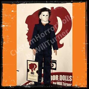Michael-Myers-CUSTOM-HORROR-DOLL-Halloween-1978-Version-OOAK-12-Figure