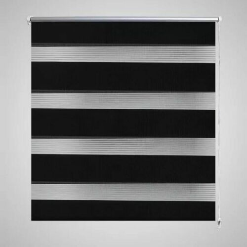175cm Drop Day and Night Zebra//Vision Window Roller Blinds 4 Colours 11 Sizes