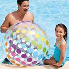 Intex 59065EP Jumbo Beach Ball, Inflatable Big Polka-Dot Colorful Giant Ball New