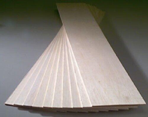 Balsa Wood 3//4 X 3 X 36 BWS1232 1