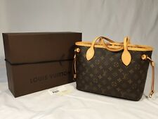 Louis Vuitton Neverfull PM Monogram Authentic Tote Bag with Box  $1180