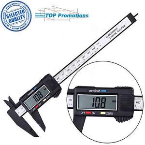 150mm-6inch-Measuring-Tool-Ruler-LCD-Gauge-Micrometer-Digital-Vernier-Caliper