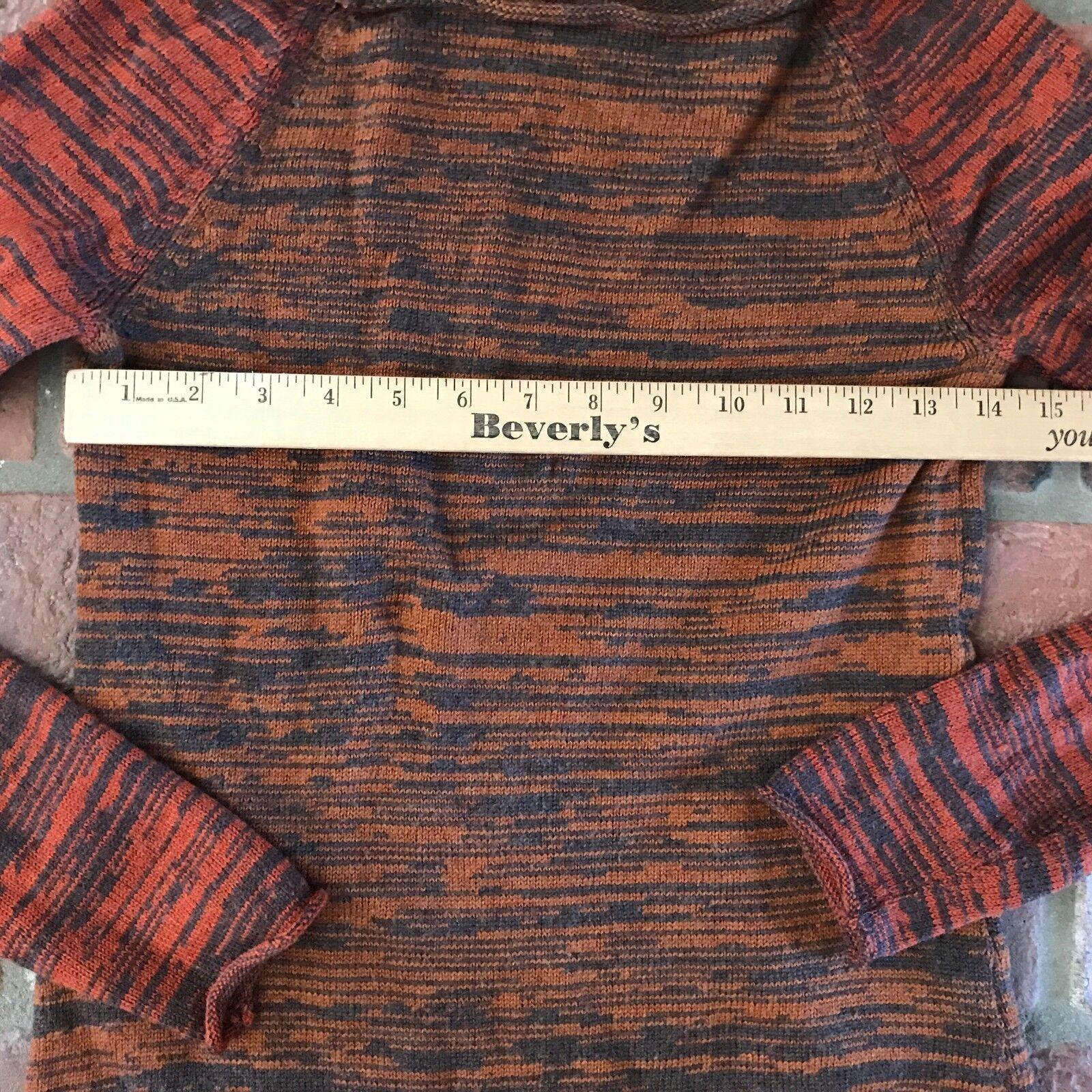 Thakoon Women's Size Small 100% Merino Wool Fall Fall Fall colors orange Sweater Top d109dc