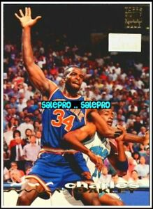 TOPPS-STADIUM-CLUB-1993-CHARLES-OAKLEY-NEW-YORK-KNICKS-RARE-FIRST-DAY-ISSUE-225