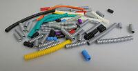 Lego® Technic Neu & Gebraucht Verschiedenen Flex Riffel Schäuche In Weiß Silber